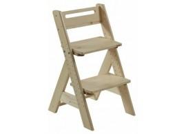 Dětská rostoucí židle ZUZU J0565, přírodní