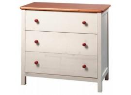 Kontejner k psacímu stolu CR054, růžová-bílá