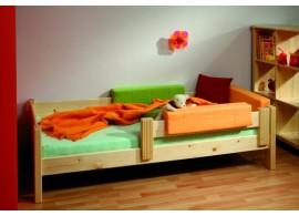 Manželská postel Cathrin 1, masiv buk cink 160x200,180x200 cm