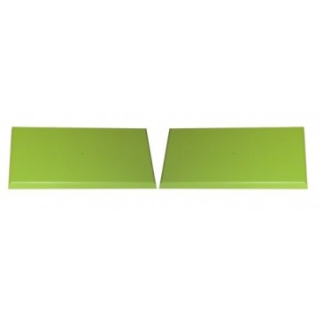 Zelený pár čel zásuvek pro K01, K02, K03, K05, K08, K09, K31, K32 – K60-PEDRO
