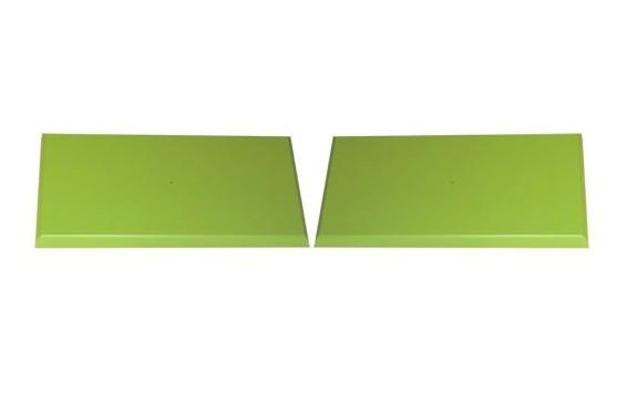 Zelený pár čel zásuvek pro K13, K14, K18, K51 – K61-PEDRO