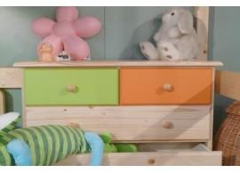 Prádelník s dvířky - BR010