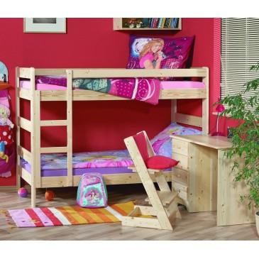 Poschoďová postel JUNIOR s roštem K53-PEDRO