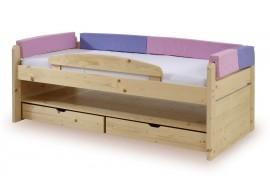 Zvýšená postel s úložným prostorem K59-PEDRO