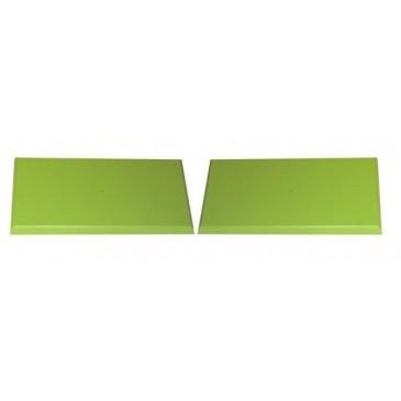 Zelený pár čel zásuvek pro K25, K55 – K62-PEDRO