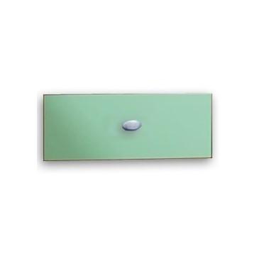 Dětská postel - jednolůžko CR108, fialová-bílá