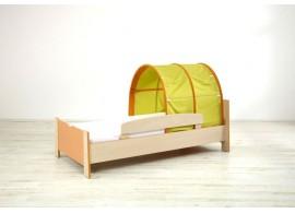 Zvýšená postel Sendy N300Z B, masiv buk