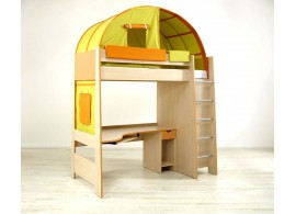 Dětská postel Sendy N300 B, masiv buk