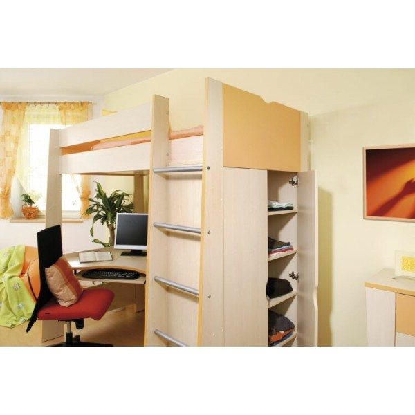 poscho ov postel sendy n300p b v ka 155 cm masiv buk d tsk pokoje intena. Black Bedroom Furniture Sets. Home Design Ideas