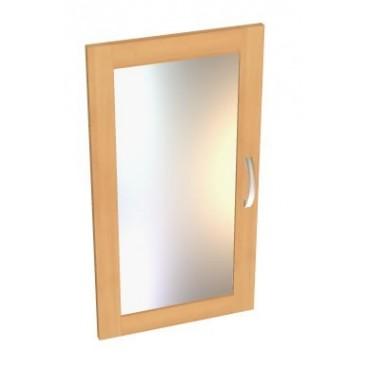 Dveře prosklené - 1ks B12b-BOLZANO, bříza-buk-olše