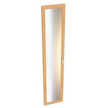 Dveře prosklené - 1ks B14b-BOLZANO, bříza-buk-olše