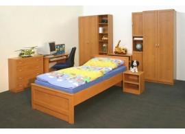 Sklápěcí postel ve skříni Kity