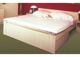 Dětská-studentská postel 140x200 FERDA-F02, bříza