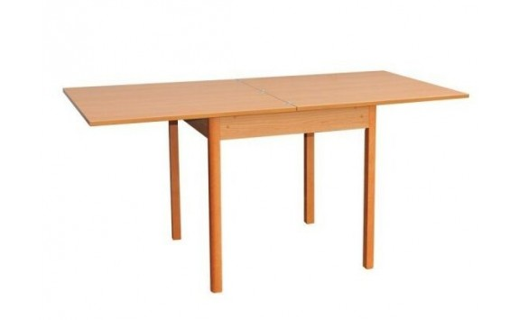 Rozkládací jídelní stůl 160x80 - SR104, buk, olše