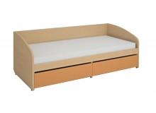 Zvýšená postel s úložným prostorem K100-Next
