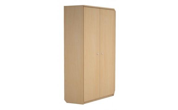 Rohová šatní skříň H131-Next