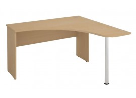 Rohový psací-pc stůl S540-Next