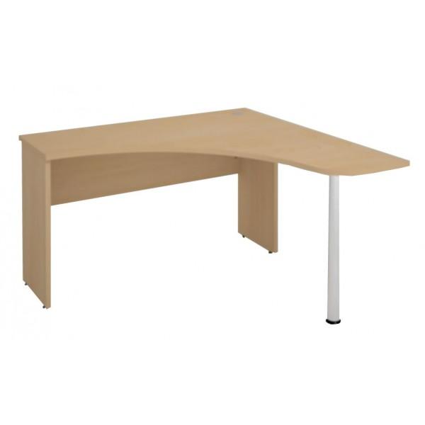 Rohový psací-pc stůl S640-Next