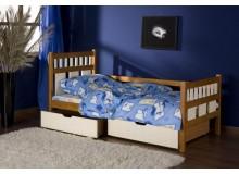 Dětská postel s úložným prostorem Luiziana, masiv borovice