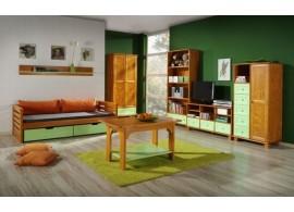 Dětský pokoj KOMO, masiv borovice