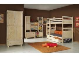 Dětský pokoj pro dvě děti MODO, masiv borovice