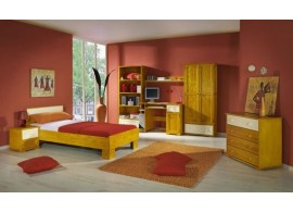 Dětský pokoj HOBO, masiv borovice