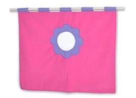 Textilní domeček 5, čelní - ke zvýšeným postelím D238-RF - Domino