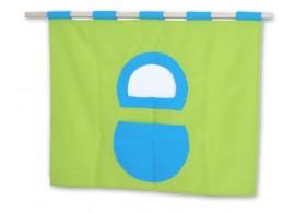 Textilní domeček 5, čelní - ke zvýšeným postelím D238-TZ - Domino