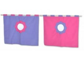 Textilní domeček 5, boční ke zvýšeným postelím D238-RF Domino