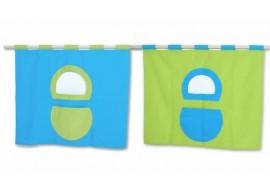 Textilní domeček 5, boční ke zvýšeným postelím D238-TZ Domino