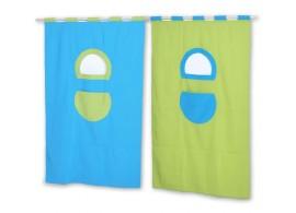 Textilní domeček 6, boční - k hornímu spaní D239TZ - Domino