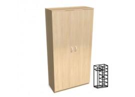 Skříň šatní vysoká vč. soklu D71-DONALD