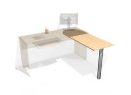 Pomocný stůl otočný D80-DONALD