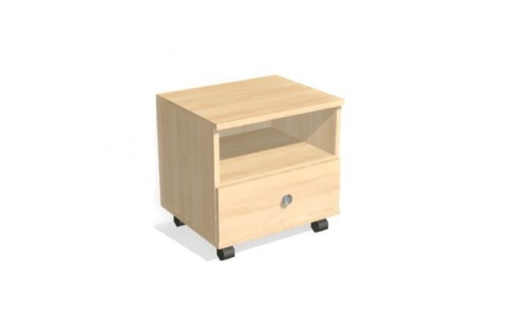 Noční stolek na kolečkách D87-DONALD