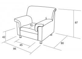 Úložný prostor pod postele 3/4 N033, masiv smrk