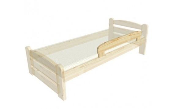 Zábrana na postel univerzální 120cm - K81 Pedro - masiv smrk