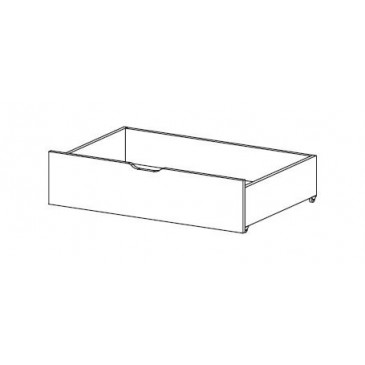 Úložný prostor pod postel FERDA-F69, bříza