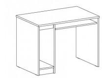 Stůl pro PC FERDA-F 72, bříza