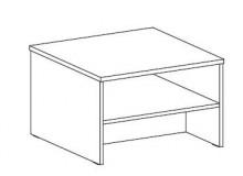 Konferenční stolek FERDA-F 74, bříza
