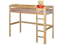 Dětská patrová-poschoďová postel IA835, masiv smrk