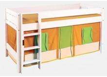 Dětská zvýšená postel Bella B0386 O-Z, masiv smrk