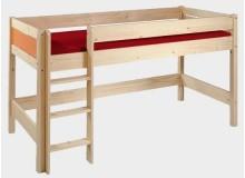 Barevná dětská postel Nativ N-BO386-COLOR, masiv smrk