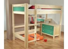 Dětská patrová postel - horní spaní Nativ N-BO388 Color