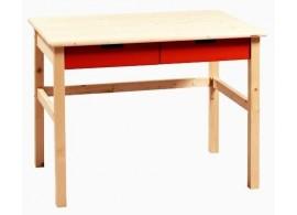 Stůl zásuvkový Mario 171 NATIVE, masiv smrk