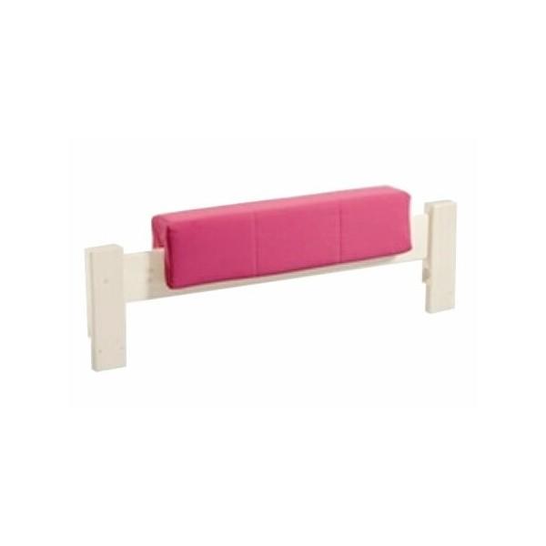 Látkový chránič na postele - zábrany D0486, růžový