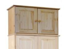 Nástavec na skříň IA8861, masiv borovice