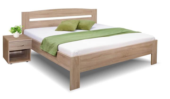 Manželská postel dvoulůžko MARIA