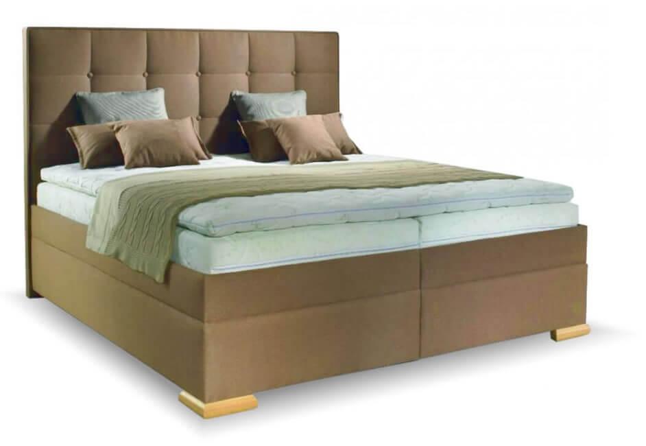 Americká postel s úložným prostorem Murano
