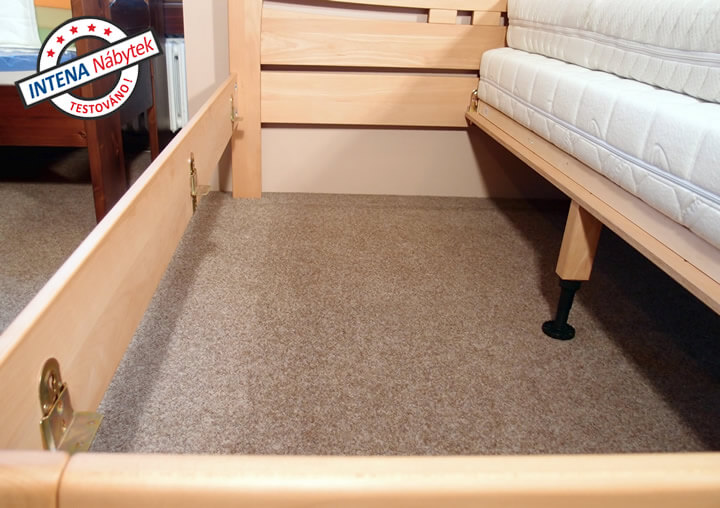 Detail roštů postele Evita 6