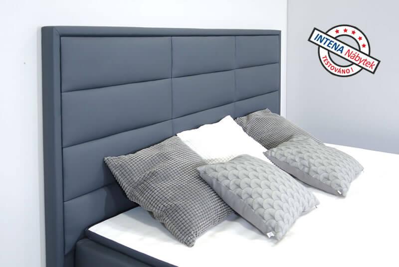 Hlavové čelo americké postele s úložným prostorem Nomento